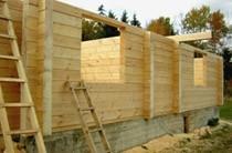 строительство домов из бревен Таштагол