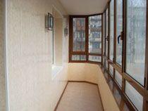 Отделка балкона в Таштаголе. Отделка лоджии
