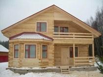 Строительство домов из бруса в Таштаголе. Нами выполняется строительство домов из бруса, бревен в городе Таштагол и пригороде